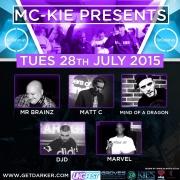 MC Kie Presents July 15 Nu Skool Crew